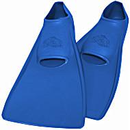 Ласты детские для бассейна резиновые SwimSafe маленькие размеры 22-24, 24-26, 26-28, 28-30, 30-33