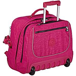 Рюкзак на колесах Kipling CLAS DALLIN цвет малиновый